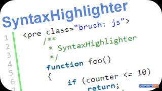 How to Install \u0026 Use SyntaxHighlighter in Html