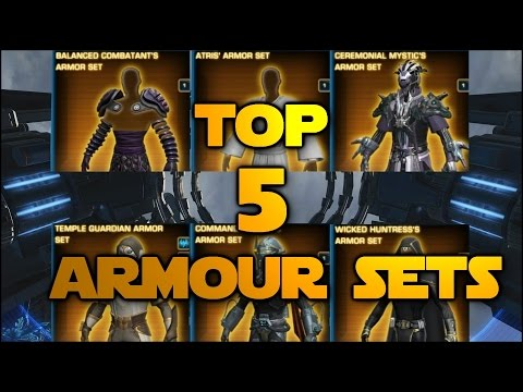 SWTOR: Top 5 Armour Sets