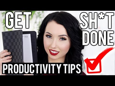 HACKS & TIPS for STAYING MOTIVATED, GETTING ORGANIZED, AND BEING THE MOST PRODUCTIVE YOU CAN BE!