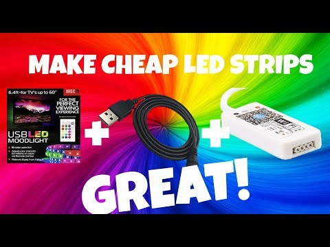 Make your Wal-Mart MagicTV LEDs Rock!