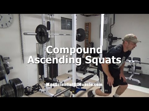 Murder Your Quads With Compound Ascending Squats
