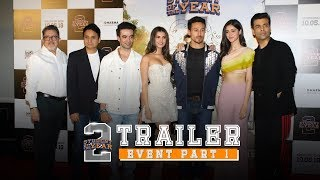 Download Student Of The Year 2 - Trailer Event | Part 1 | Tiger Shroff | Tara | Ananya | Punit Malhotra Video