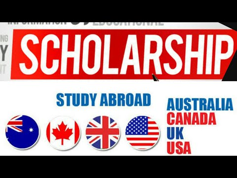 How do I get scholarships in Canada, USA, AUS, NZ, or UK ?