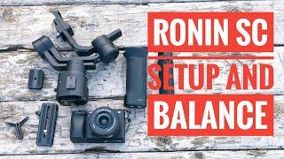 Download Dji Ronin SC Setup and How to Balance Video