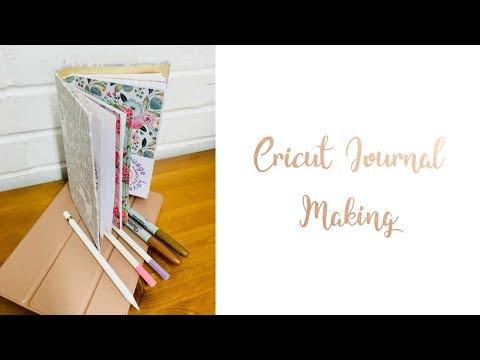 Cricut Journal Making