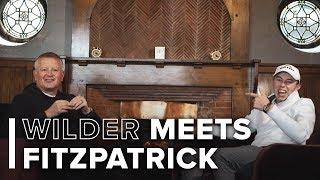 Chris Wilder meets Matt Fitzpatrick   Football, golf and a love of United