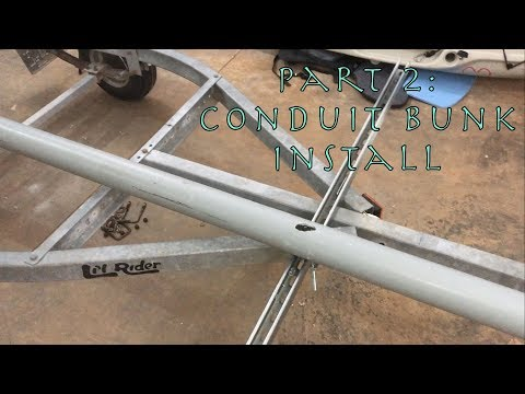 Hobie PA Trailer Build (Jet Ski Trailer) Part 2