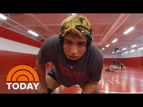 Once-Homeless 'Punk' Finds His Place On The Wrestling Mat | TODAY
