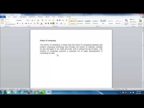 How to InsertFootnote in Word