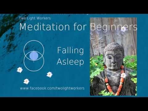 Falling asleep during meditations
