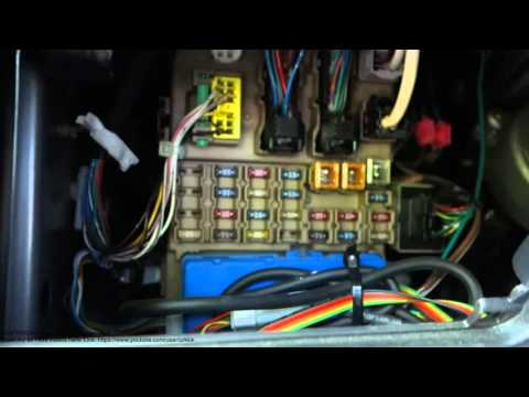 Toyota Corolla fuse boxes locations years 2002 to 2015. And fuse replace.