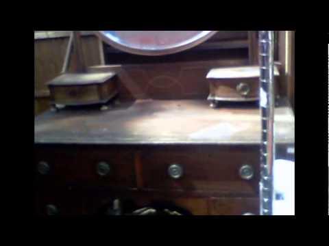 Antique   Edwardian Dresser,Mirror Good,Inlaid,Cedar Drawers etc etc