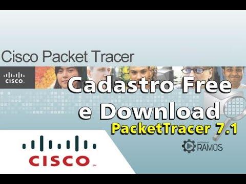 🌉 Cisco Packet Tracer 7.1 🌉 Cadastro Free NetAcad e Download | www.aulaEAD.com