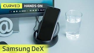 Samsung Dex Station im Test: das Galaxy S8 als PC | deutsch