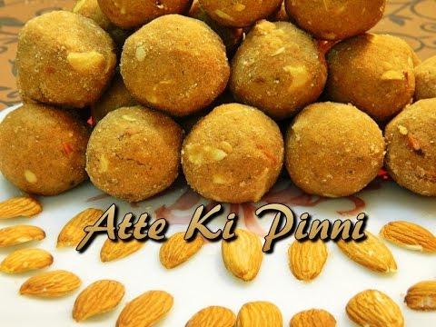 Recipe of Atte Ki Pinni or Atte Ke Laddo or Punjabi Pinni Traditional Recipe by KHANA MANPASAND