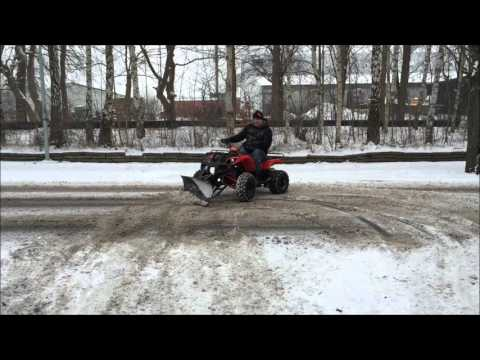 ATV X-Pro Worker 150cc with Plow