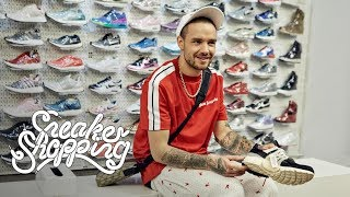 Liam Payne Goes Sneaker Shopping With Complex
