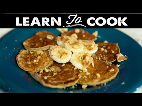 Learn To Cook: How To Make Gluten Free Banana Pancakes