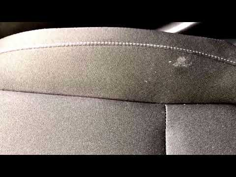 How to remove gum from car seats