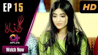 Gunnah - Episode 15 | Aplus Dramas | Sara Elahi, Shamoon Abbasi, Asad Malik | Pakistani Drama