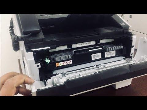 Replacing toner cartridge Brother fax-2840