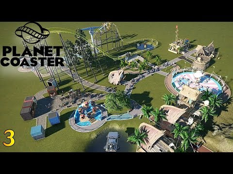 Planet Coaster 3- More Rides! More Fun!
