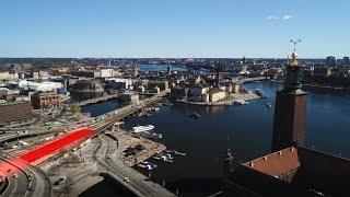 Getingmidjan – byte av järnvägsbron över Norrström, 2020 | Trafikverket