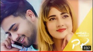 PR : ANGAD (Official Video)   Nisha Bhatt   New Punjabi Songs 2019   Red Leaf Music