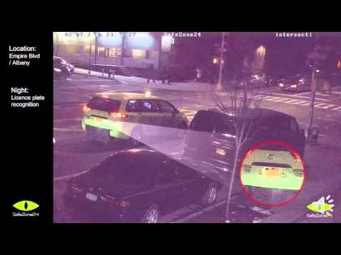 License Plate recognition and face recognition with safezone24 surveillance cameras