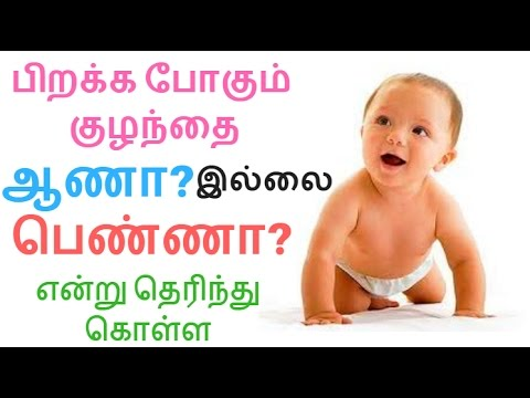 ஆணா பெண்ணா என்று வீட்டிலேயே தெரிஞ்சுக்க-How to know girl or boy baby test | Health & Beauty Tamil