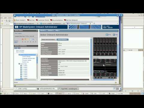 HP Integrated Light Out & OnBoard Administrator