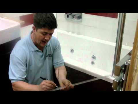 How To Replace an Old Bath Shower Screen Seal