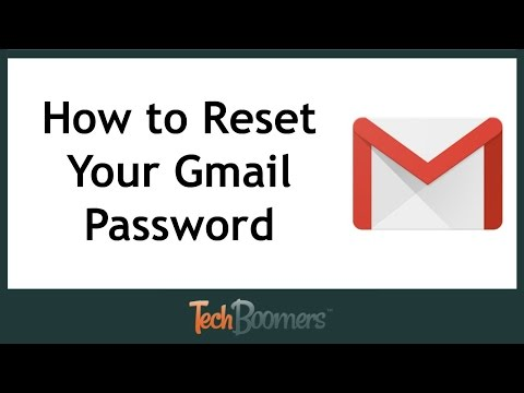 How to Reset Your Gmail Password