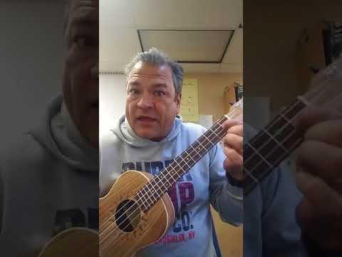 Happy Birthday: Ukulele open C tuning with and many more ending