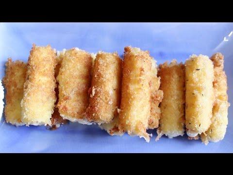 Recipe: How to Make Mozzarella Sticks
