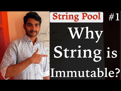 Why string is immutable in java || The 4 reasons you must know || part 1