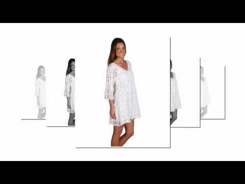 White Summer Dresses - White Sundresses 2012