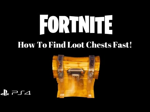 FORTNITE: How To Find Loot Chests Fast! [Save The World]