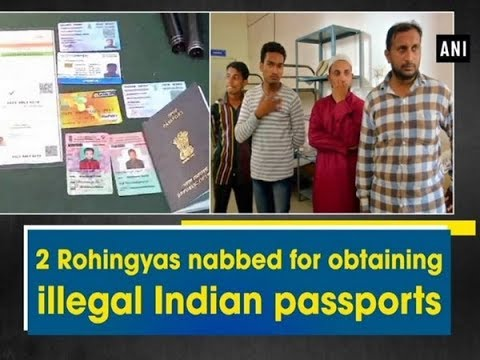 2 Rohingyas nabbed for obtaining illegal Indian passports - Hyderabad News