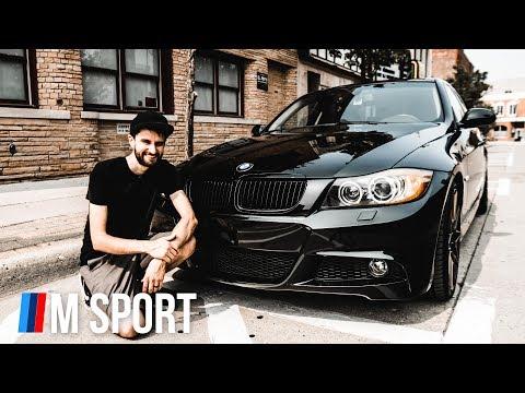 INSTALLING MY NEW BUMPER | E90 BMW M Sport Conversion PART 2