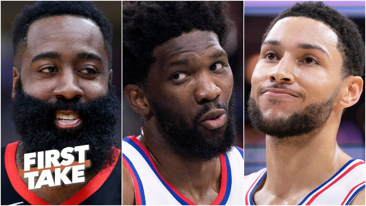Would you trade Ben Simmons for James Harden? | First Take
