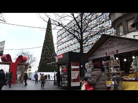 No holiday cheer for Belgrade's 83,000-euro Christmas tree