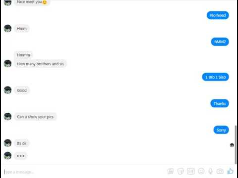 How To Live Chat Friendship A Girl On Facebook