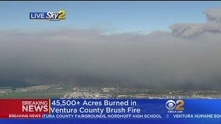 45,500 Acres Burned In Ventura County