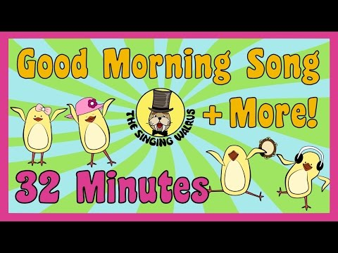 Good Morning Song, Transportation Song and More | Kids Song Compilation | The Singing Walrus