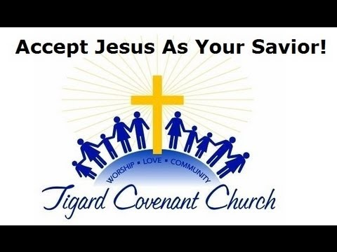 Accept Jesus Christ as your Savior!