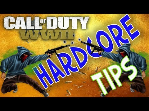 HARDCORE TIPS and TRICKS to DOMINATE in Call of Duty WW2 Multiplayer!!