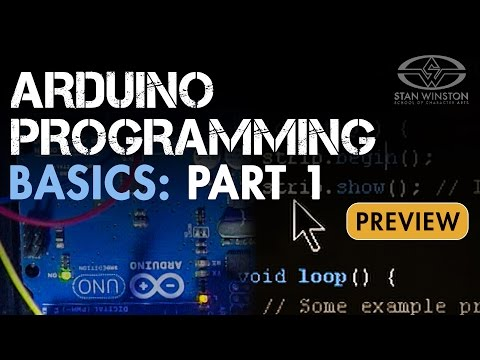 Animatronic Control Systems - Arduino Programming Basics Part 1 - PREVIEW