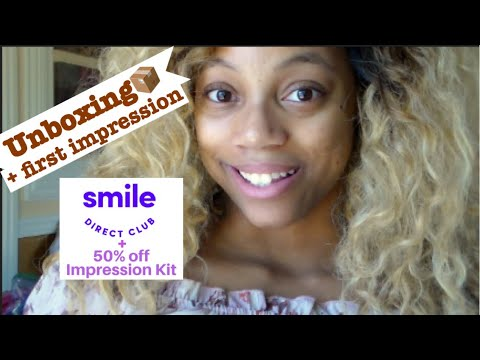 Unboxing & First Impression: Smile Direct Club! |Smile Journey| Teen Mom at 18