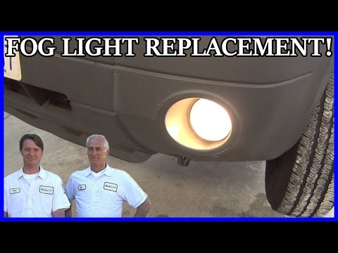 How to Replace Fog Light Bulb Ford Escape 2001-2007